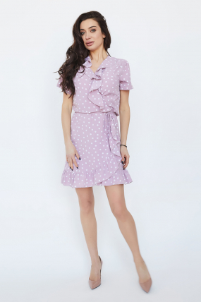 Платье Монако розовое 3346
