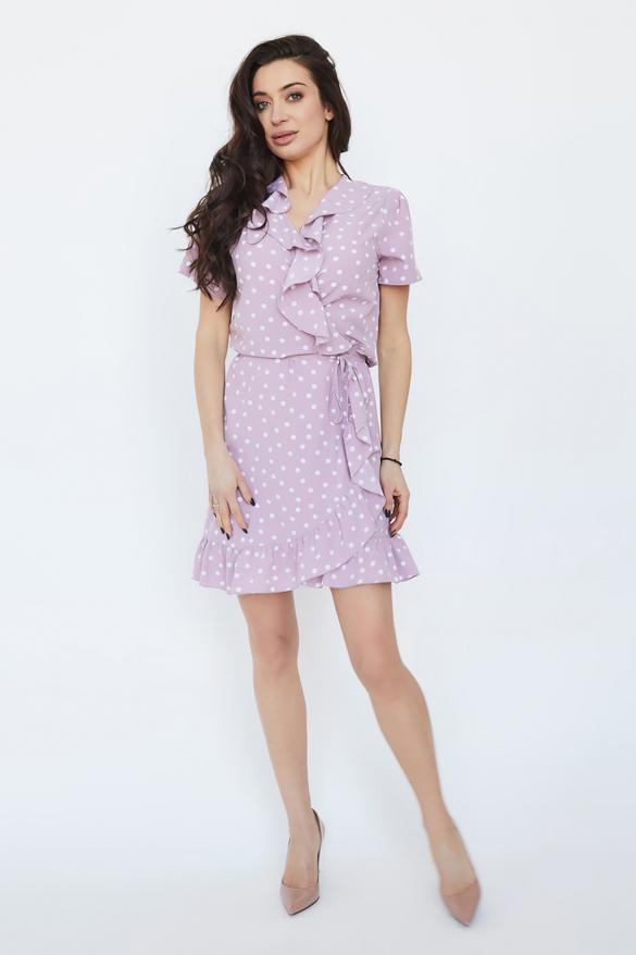 Платье Монако розовое