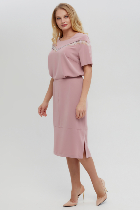 Костюм Доміно рожевий 3357