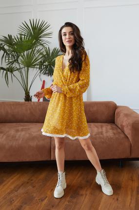 Платье Фиеста желтое