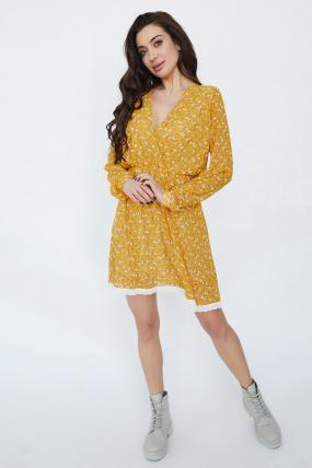 Сукня Фієста жовте 3364