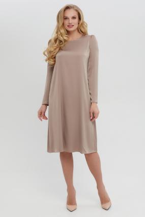 Платье Бьянко темно-бежевое 3402