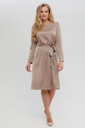 Платье Бьянко темно-бежевое 3403