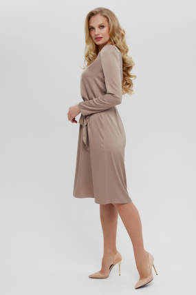 Платье Бьянко темно-бежевое 3404