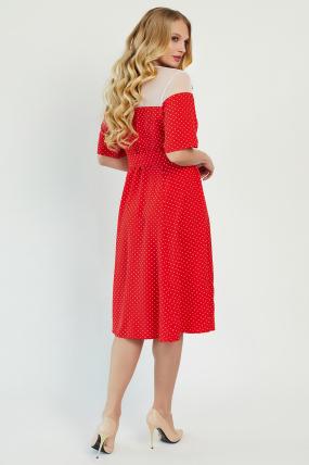 Платье Флорида красное 3409