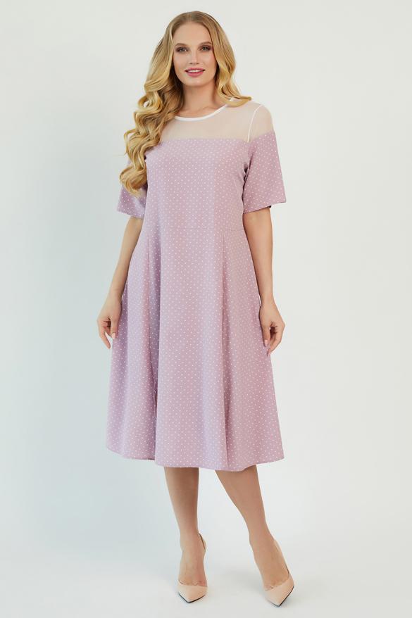 Платье Флорида розовое
