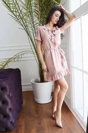 Платье Монако бежевое