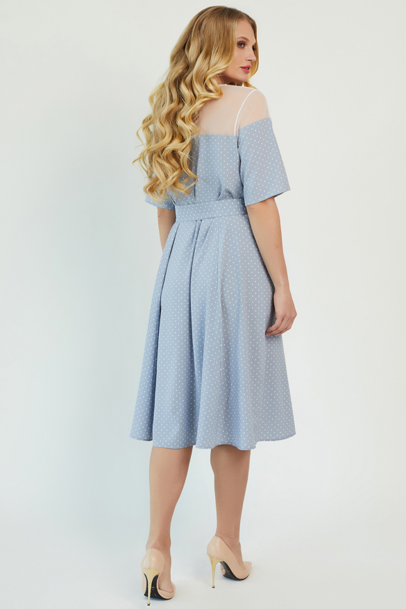Платье Флорида голубое