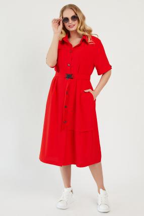 Сукня Бізе червона 3429