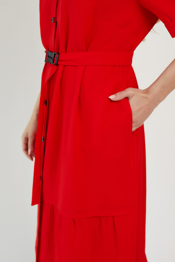 Сукня Бізе червона