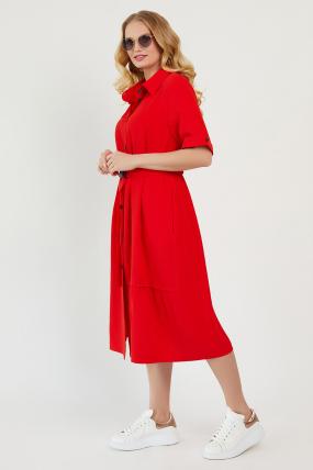 Платье Бизе красное 3431