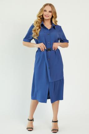 Платье Бизе синее 3438