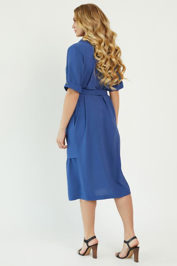 Платье Бизе синее