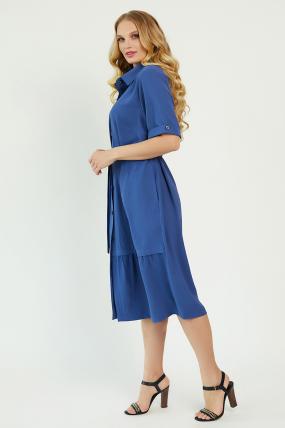 Платье Бизе синее 3440