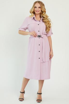 Платье Бизе розовое 3441