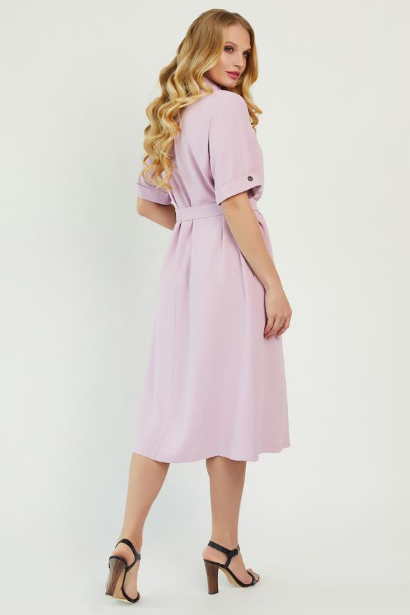 Платье Бизе розовое