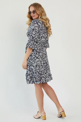 Платье Фифа темно-синее 3450