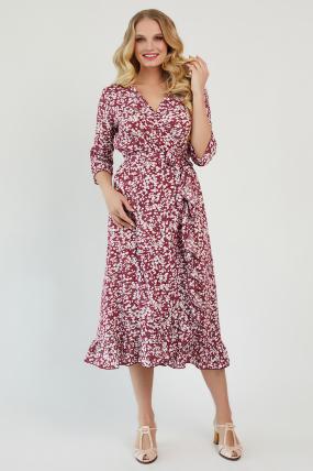 Платье Фанта бордовый 3451
