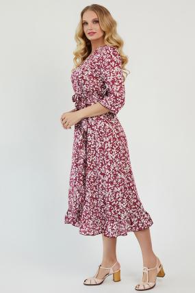 Платье Фанта бордовый 3452
