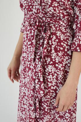 Платье Фанта бордовый 3453