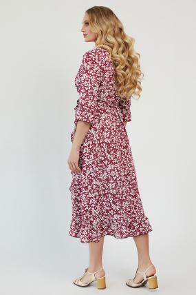 Платье Фанта бордовый 3455