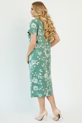 Сукня Алсу оливкова 3473
