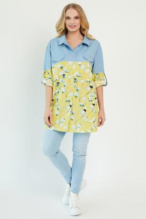Рубашка Челси желтая