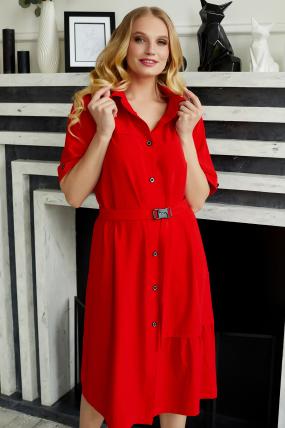Сукня Бізе червона 3497