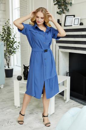 Платье Бизе синее 3499