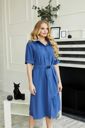 Платье Бизе синее 3500