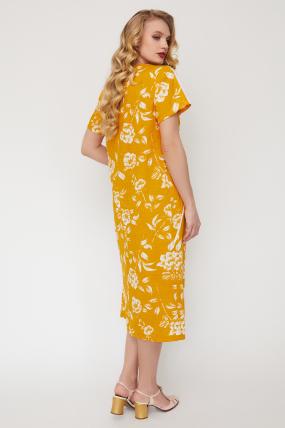 Сукня Алсу гірчиця 3518