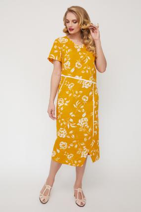 Сукня Алсу гірчиця 3519