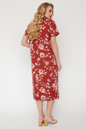 Платье Алсу терракот 3521