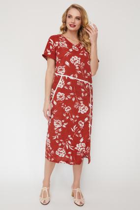 Платье Алсу терракот 3522