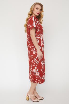 Платье Алсу терракот 3523