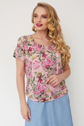 Блуза Жемчуг рожева