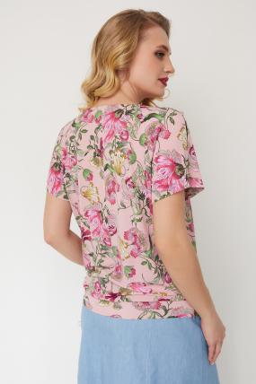 Блуза Жемчуг розовая 3551