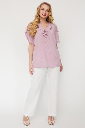 Блуза Бабочка розовая 3561