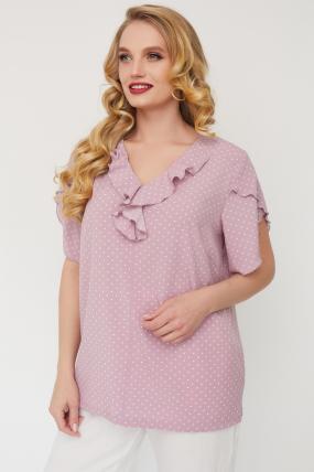Блуза Бабочка розовая 3562