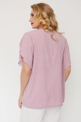 Блуза Бабочка розовая 3564