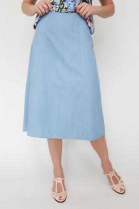 Юбка Инди светло-голубая