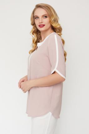 Блуза Рейма пудра 3580