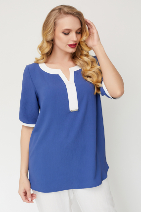 Блуза Рейма синя 3584