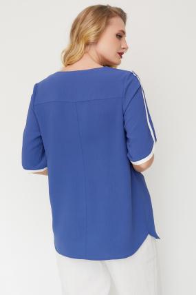Блуза Рейма синя 3586