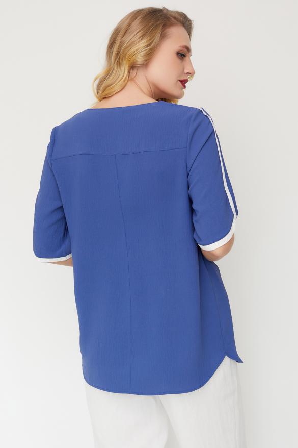 Блуза Рейма синя