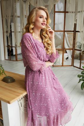 Платье Беатрис розовое