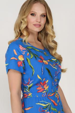Сукня Камиш синя 3624