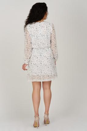 Платье Фиеста белое 3633