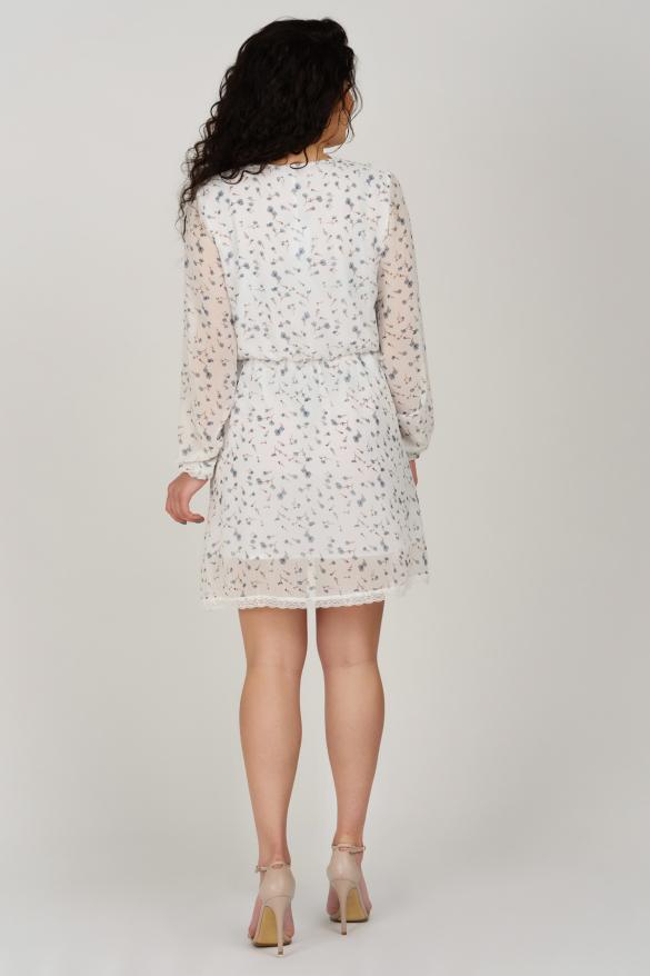 Платье Фиеста белое