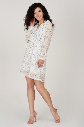 Платье Фиеста белое 3634